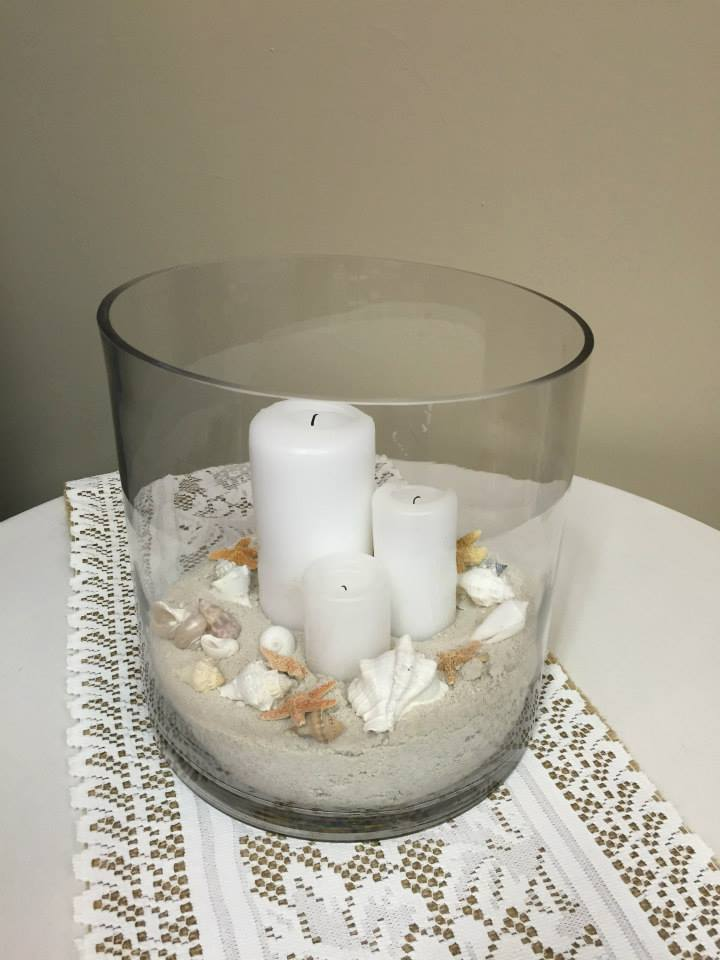 Large Shell Centerpiece